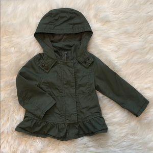 Toddler Girl Utility Style Jacket